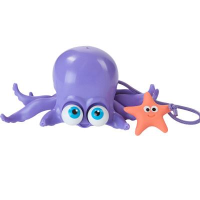 智库 婴幼玩具学步玩具手拖玩具章鱼拖拖乐