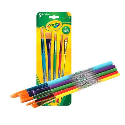 美国 Crayola/绘儿乐 5支装画刷 儿童绘画工具