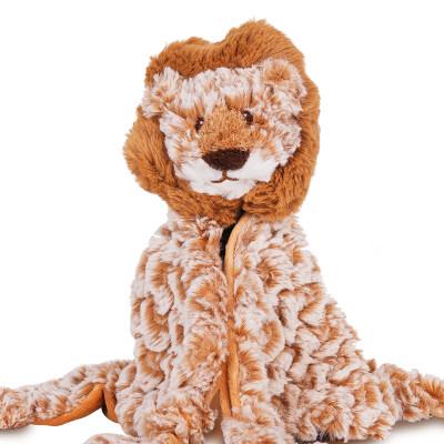 美国 Wubbanub 非洲小狮口水巾 咬咬乐婴儿 安抚玩具防吃手