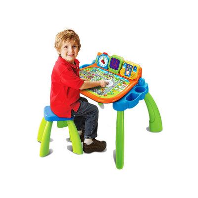 VTech伟易达电子教育玩具点触学习桌多功能玩具台游戏桌儿童早教益智力玩具3-6岁