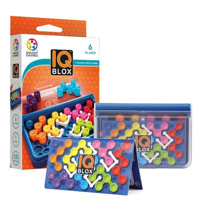 比利时 Smart Games智慧不可挡IQ Blox 益智玩具桌游专注力 6岁+(IQ系列)