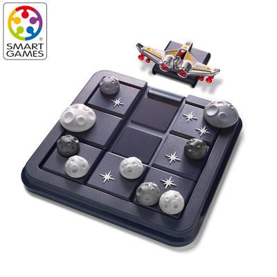比利时 Smart Games宇宙迷航 益智玩具桌游逻辑思维华容道 8岁+(便携旅行系列)