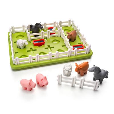 比利时 Smart Games智慧农场主 益智玩具桌游空间想象规划力 5岁+(经典系列)