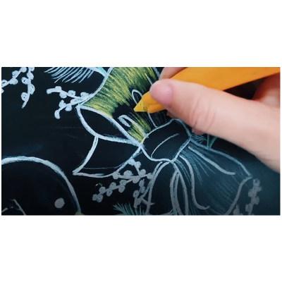 美国 Jaq Jaq Bird 儿童黑板墙贴纸自粘家用黑板墙可涂鸦可擦画板
