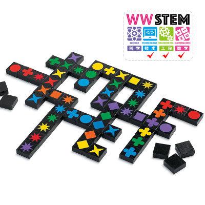 智库 智力扣扣棋 儿童玩具4-6岁男孩女孩益智桌游记忆卡牌游戏棋 旅行版