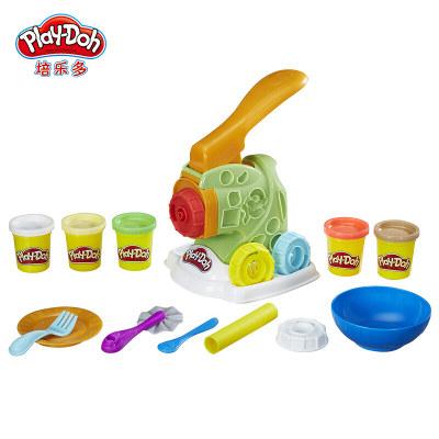 美国 PlayDoh/培乐多 彩泥创意厨房妙趣面条机B9013 儿童手工橡皮泥玩具