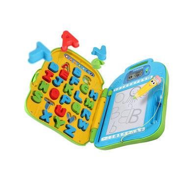 VTech伟易达电子教育玩具字母拼写书包字母积木配对磁性画板涂鸦儿童益智早教玩具3-6岁