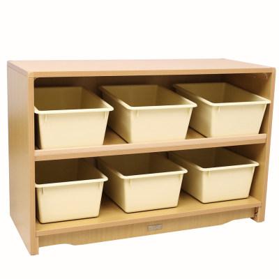 Kohburg/科宝 抽屉柜子带收纳盒(933*381*610) 整理储物柜 儿童家具
