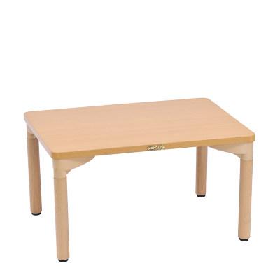 Kohburg/科宝 矩形桌(762*607) 活动游戏学习桌 绘画木桌 儿童家具