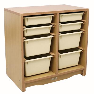 Kohburg/科宝 抽屉柜子带收纳盒(629*381*610)整理储物柜 盒子防脱落 儿童家具