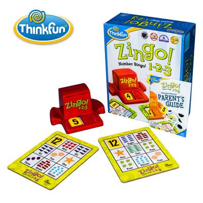 Thinkfun 儿童益智玩具 zingo眼明手快 STEM男孩女孩儿童玩具4-6-8岁 Zingo图文版