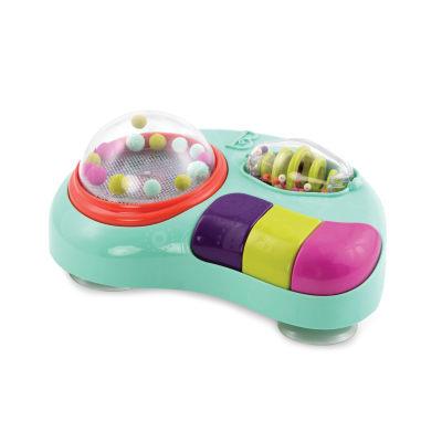 北美 B.Toys/比乐 小旋风炫彩魔盒婴儿宝宝声光音乐盒早教益智玩具