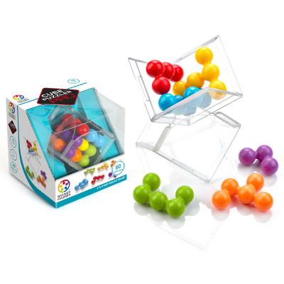 比利时 Smart Games彩虹魔珠Cube Puzler Pro 益智玩具桌游 10岁+(便携旅行系列)