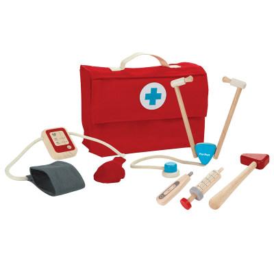 泰国 PlanToys 小医生护士打针套装儿童玩具过家家