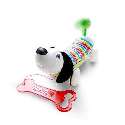 VTech伟易达电子教育玩具自然拼读字母狗早教学习教具宝宝音乐拖拉学步玩具12-36个月