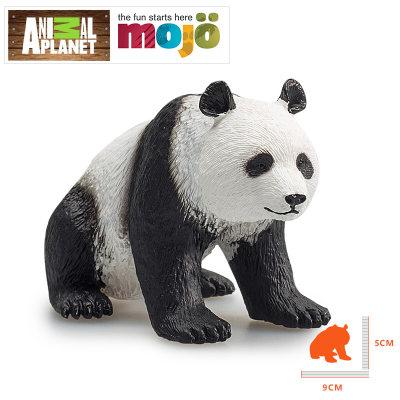 英国 Animal Planet/长毛象 大熊猫等野生动物模型 儿童仿真塑胶玩具
