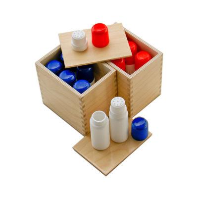 美国 MontessoriOutlet/蒙特梭利 感统区 嗅觉瓶 气味判断感知 儿童教具