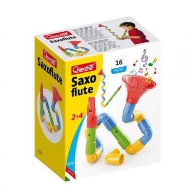 意大利 Quercetti/启迪 萨克斯管儿童拼搭乐器益智男孩女孩玩具