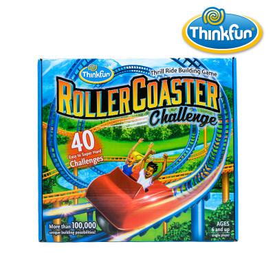 Thinkfun 儿童益智玩具挑战过山车 逻辑思维训练男孩女孩儿童玩具6-8-12岁 Roller Coaster Ch