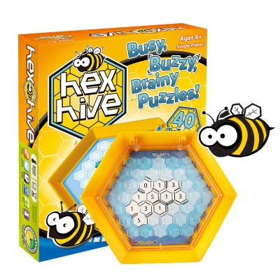 智库 蜂狂数拼 儿童逻辑推理智力锻炼游戏益智棋类6-12岁