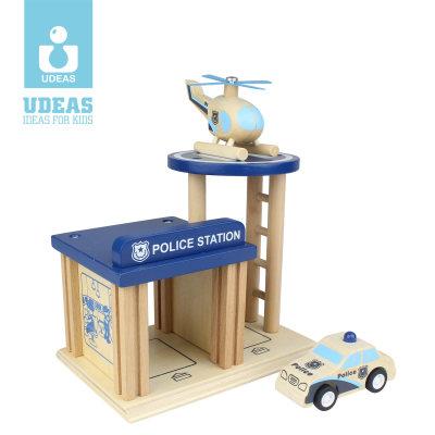 美国 UDEAS/有点 急救中心 警局/消防局/医院 拼装玩具 指挥中心813002A