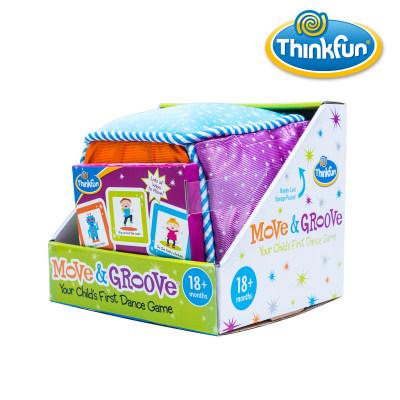 Thinkfun扭来扭趣儿童益智玩具STEM玩具培养逻辑思维男孩女孩生日礼物1岁+