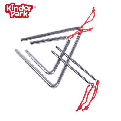 【预售】 美国 Kinder Park 4寸/6寸三角铁 一组 儿童乐器