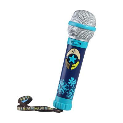 北美 B.Toys/比乐 卡拉OK麦克风儿童仿真话筒录音留言音乐益智玩具