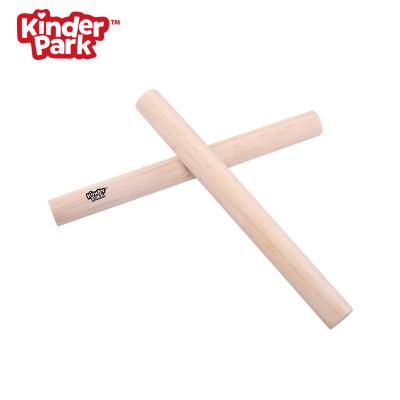 【预售】 美国 Kinder Park 小号响棒 一对两支 儿童乐器