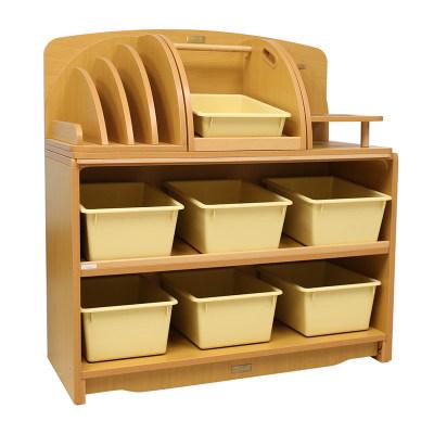 Kohburg/科宝 创意组合斜层板柜配收纳盒 防脱落(93cm)整理储物柜