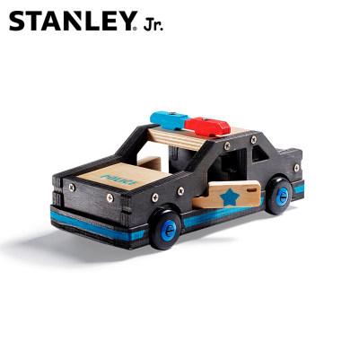 美国 Stanley/史丹利 警车 自主组装 涂色 儿童玩具