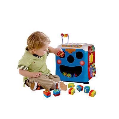 VTech伟易达电子教育玩具学习智立方多功能玩具台游戏桌儿童早教益智力玩具9-36个月