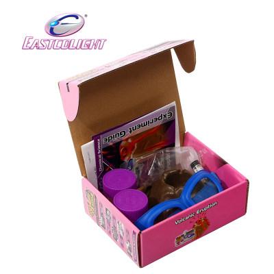 香港 eastcolight/怡高 火山喷发学生科学实验器材儿童科普教育玩具