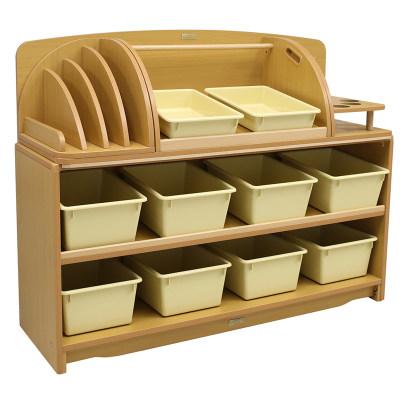 Kohburg/科宝 创意组合斜层板柜配收纳盒 防脱落(124cm)整理储物柜