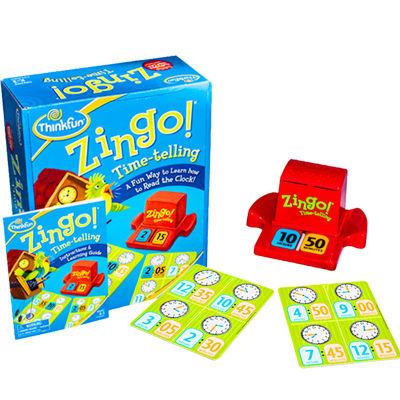 美国 Thinkfun/新想法 眼明手快时间乐系列儿童益智zingo智力玩具锻炼思维