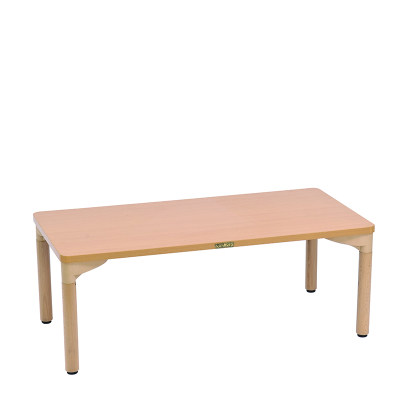 Kohburg/科宝 矩形桌(1118*559)活动游戏学习桌 绘画木桌 儿童家具