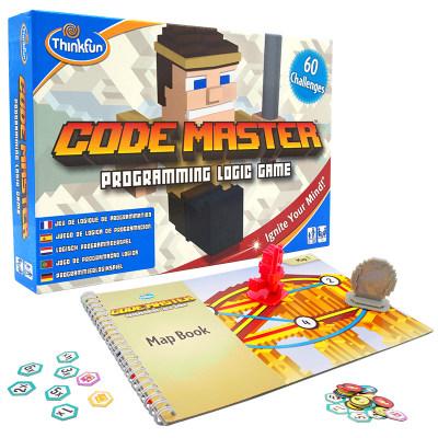 美国 Thinkfun/新想法 编程大师 儿童游戏code master 解码脑力思维逻辑玩具