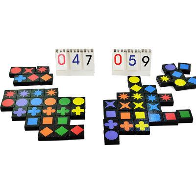 智库 智力扣扣棋 儿童玩具4-6岁男孩女孩益智桌游记忆卡牌游戏棋 标准版