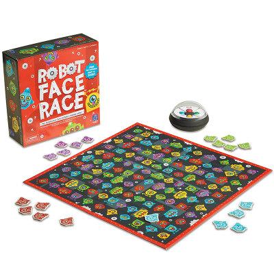 美国 Learning Resources机器人脸部识别游戏儿童桌游早教益智