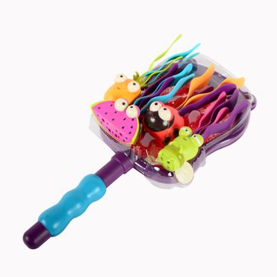 北美 B.Toys/比乐 捕捞游戏 贪吃的河马儿童宝宝洗澡戏水玩具