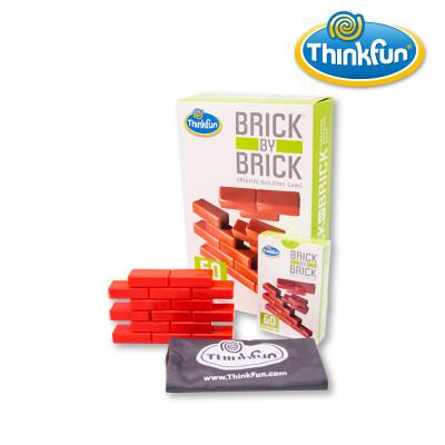 Thinkfun堆砌大师(红砖块)儿童益智玩具STEM玩具培养逻辑思维男孩女孩生日礼物6岁+