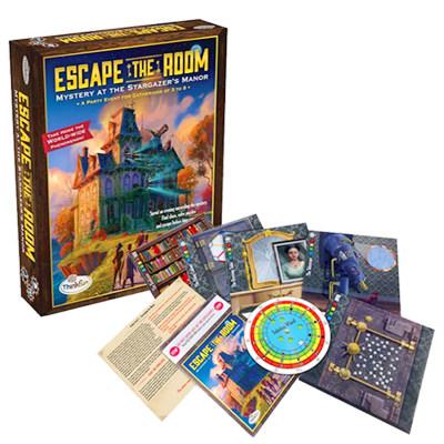 Thinkfun密室逃脱EscapetheRoom中文版儿童益智玩具STEM玩具培养逻辑思维男孩女孩