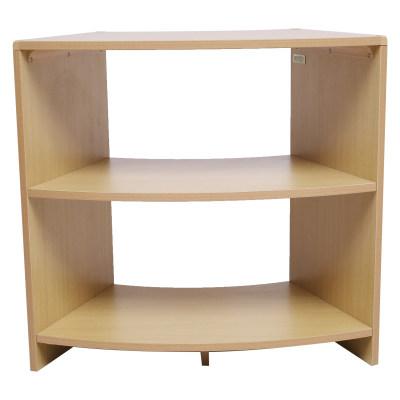 Kohburg/科宝 扇形柜加1层板(768*381*718)整理展示储物柜 儿童家具