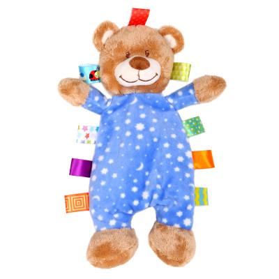 美国 Wubbanub 星空小熊 宝宝安抚玩具婴儿可入口安抚巾