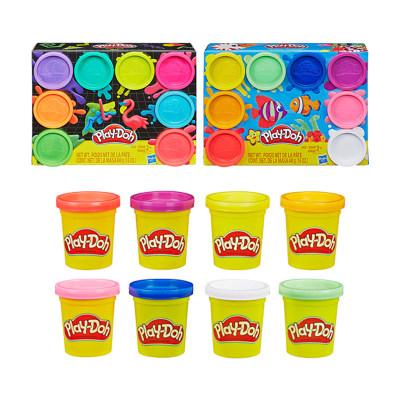 【大赛指定产品11】Play-doh彩色橡皮泥粘土彩虹8色