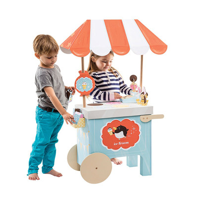 以色列 Krooom 冷饮购物车 礼盒拼装模型 儿童拼装玩具