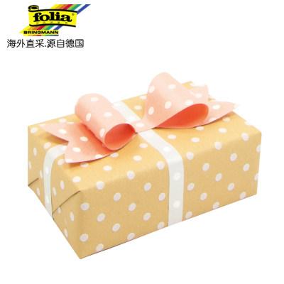 德国进口 Folia波点卡纸 礼物盒包装材料