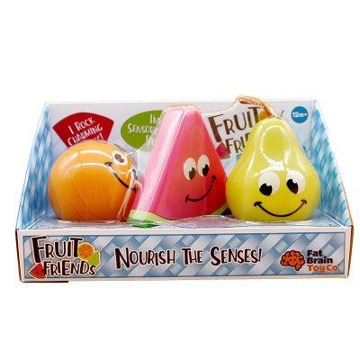 智库 婴幼儿认知启蒙水果摇铃安抚情绪 水果摇摇乐
