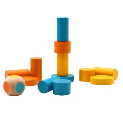 【大赛指定产品6】PlanToys平衡叠叠乐桌面游戏