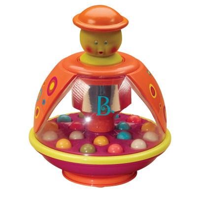 北美 B.Toys/比乐 巴布扭扭跳跳球空气按压式蹦蹦球儿童感统益智玩具
